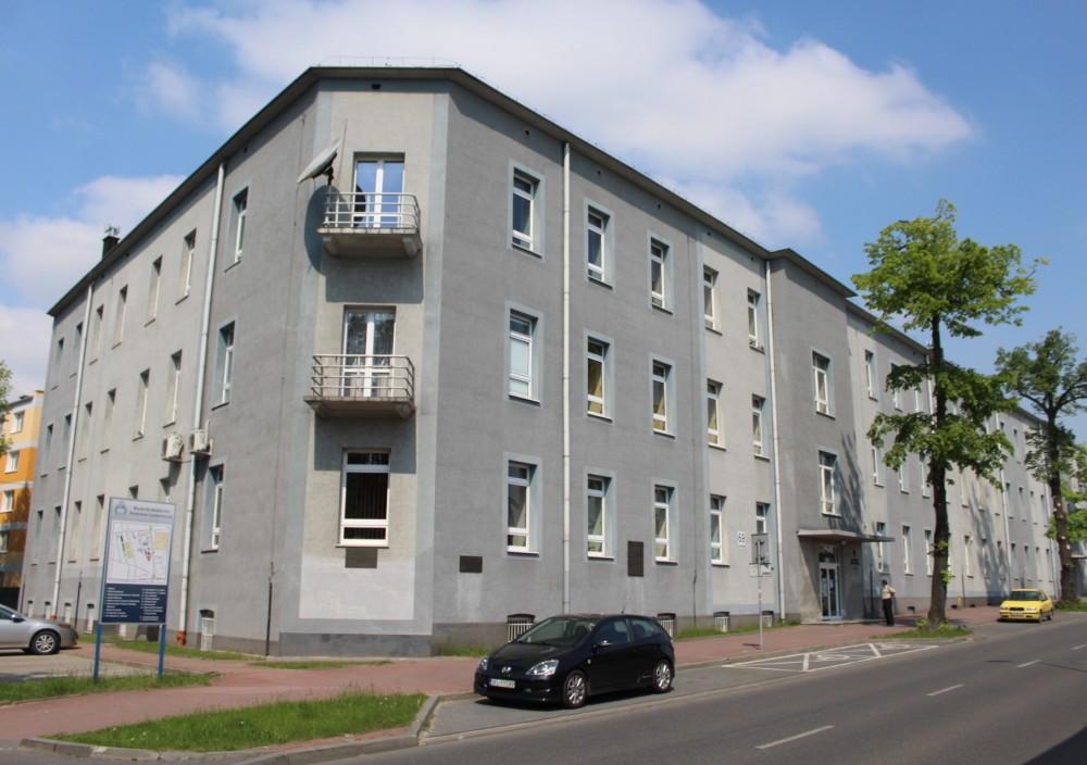 Dawne koszary Zawady w Częstochowie - pierwsza siedziba 1 Pułku Strzelców Bytomskich